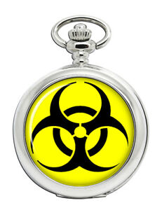 Biohazard-Symbol-Pocket-Watch