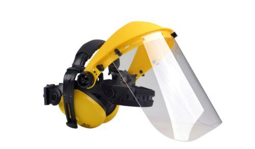 débroussailleuse PPE Oregon Q515062 Visage Bouclier//Visière//Masque avec oreille Manchons rotofil