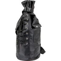West-eagle Black Sissy Bar Duffle Bag For Harley Motorcycle Luggage on sale
