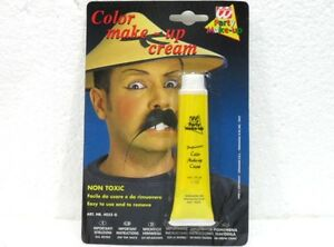 Carnevale/halloween-accessori-color Make Up Crema Party-giallo Asiatico-28 Gr.