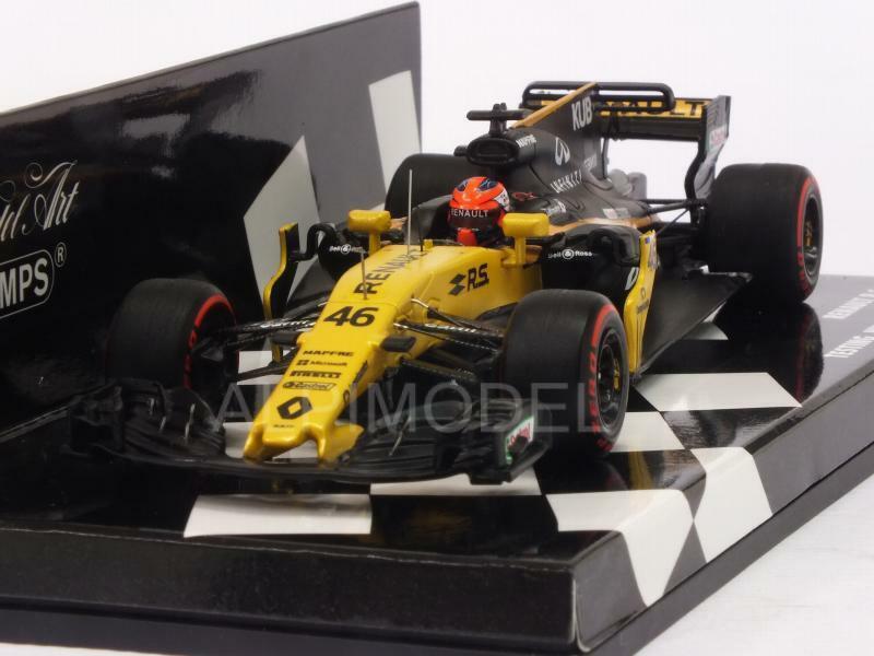 Renault R.S.17 Test Hungaroring 2017 Robert Kubica HQ 1 43 MINICHAMPS 417171146