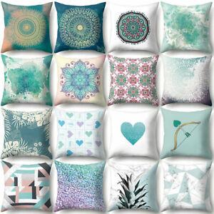 Am-KF-Mandala-Love-Heart-Throw-Pillow-Case-Cushion-Cover-Sofa-Bed-Car-Home-Dec