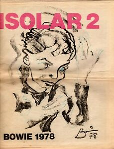 DAVID-BOWIE-1978-ISOLAR-2-TOUR-CONCERT-PROGRAM-BOOK-NEWSPAPER-FIRST-PRINTING