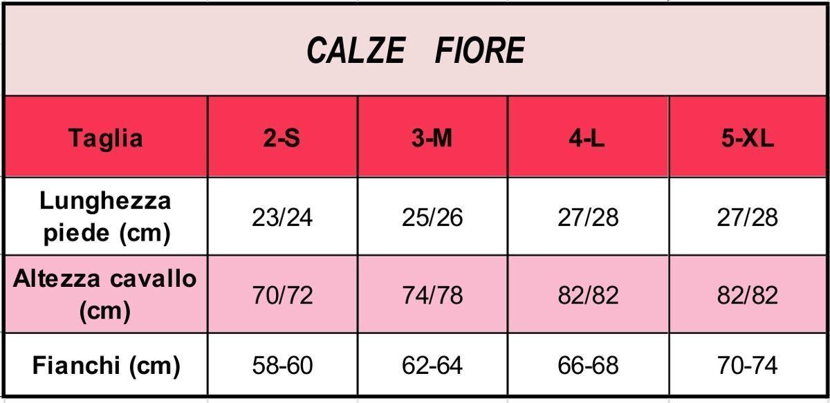 Collant velato effetto coprente con cerchietti 40 den den 40 Fernanda Calze Fiore 8e9d82