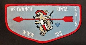 ASHWANCHI-KINTA-LODGE-193-OA-CHOCTAW-AREA-COUNCIL-PATCH-2015-RED-FLAP-DELEGATE
