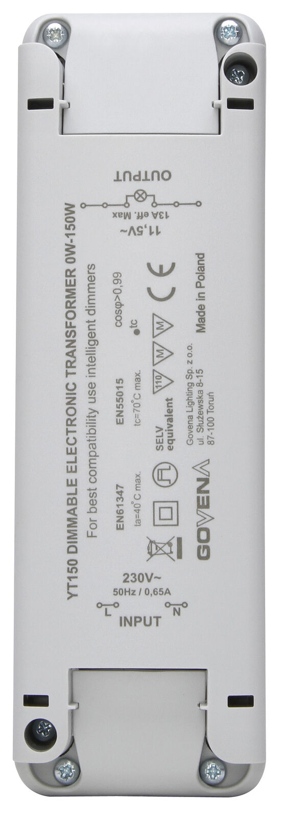 Kopp Elektronischer Transformator 0-150W VA 202515098 202515098 | Haltbarer Service
