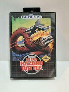 Sega Genesis Bio-Hazard Battle 1992 Complete. Authentic &Tested. Free shipping
