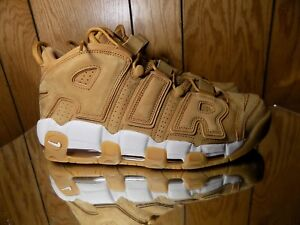 Image is loading Nike-Air-More-Uptempo-96-Premium-Flax-Flax-