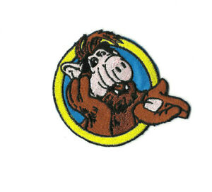 ALF-Iron-on-Sew-on-Patch-Embroidered-Badge-Motif-TV-PT521