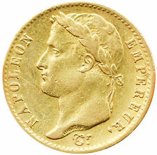 Napoleon 1815 W France 20 Francs Gold Coin Rarest of 100 Days Gold -Coin0175