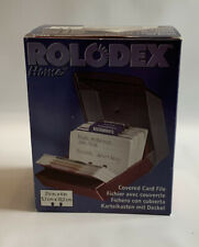 Rolodex Home Products Address Telephone File Business Card Organizer Vintage Nib