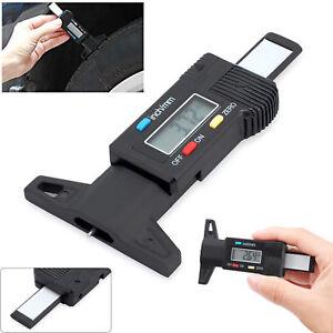 Reifen Digital LCD Profiltiefenmesser Lauffläche Reifenprofil Messer 0-25mm+Akuu