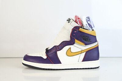 low priced f4351 7c4dc Air Jordan SB Retro 1 High OG Defiant Lakers 2 Chi Court Purple CD6578-507  8-14 | eBay