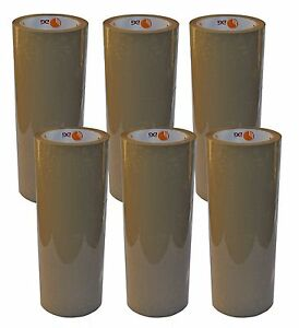 36 Rollen Klebeband Paketband  Paketklebeband  Packband  66m lang x 50mm BRAUN