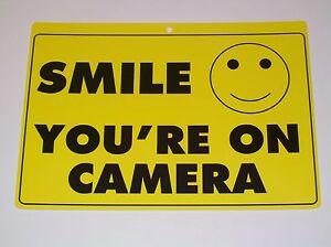 Security Surveillance Cctv Cameras Smile You Re On Camera