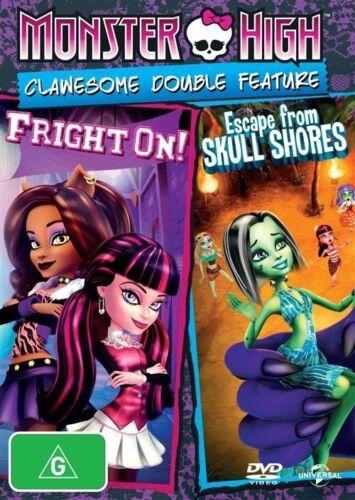 1 of 1 - Monster High - Escape From Skull Shores / Fright On (DVD, 2014)