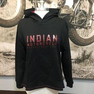 Indian-Motorcycle-Ladies-Casual-Hoodie-Size-L