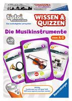 Ravensburger Tiptoi 3in1 Wissen & Quizzen Die Musik Instrumente 00756