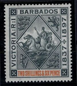 P133369-BRITISH-BARBADOS-SEAL-OF-COLONY-SG-124-MINT-MH-CV-140