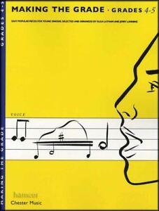 Amical Making The Grade Voix Grades 4-5 Jeunes Chanteurs Chant & Piano Music Book-afficher Le Titre D'origine