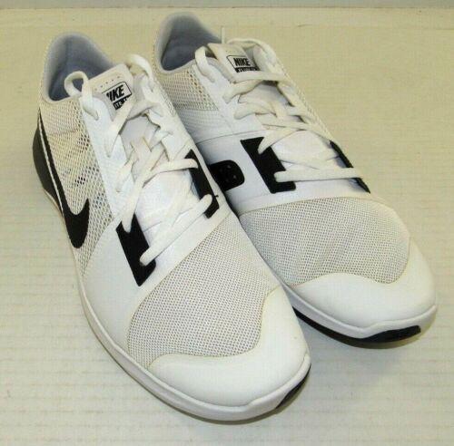 3 Blanco para negro hombre No Nike mesh Trainer Nwd Box Synthetic Zapatillas Fs Lite de running aYwPY