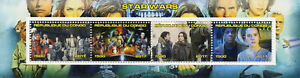 Congo-2017-CTO-Star-Wars-Rey-Finn-4v-M-S-I-Movies-Stamps