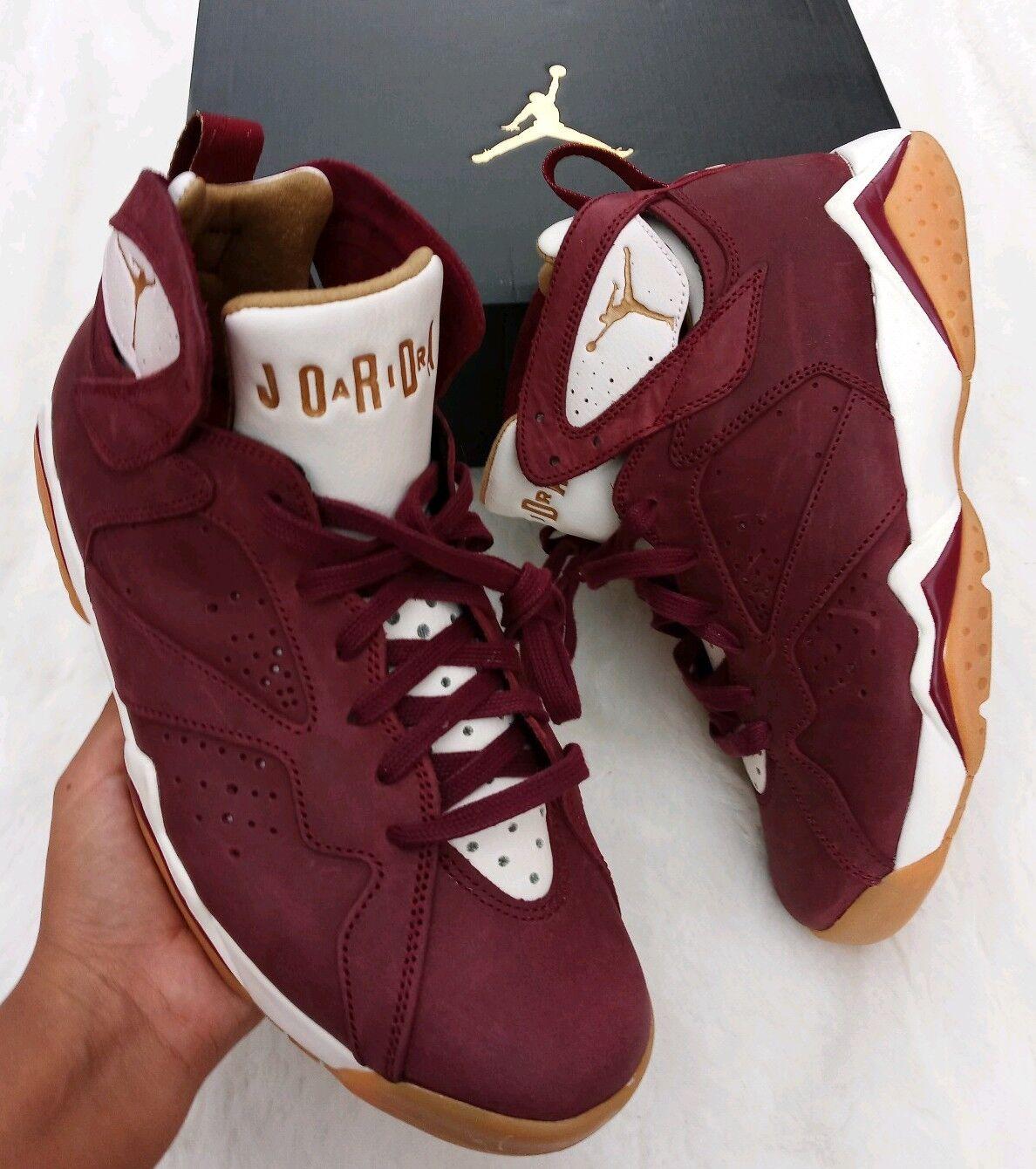 C Team Nike Hombre Jordan Goma amp;c Cigar Para Retro Vii Rojo Dorado 7 rdtshQCx