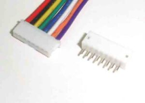 JST-ZH-1-5mm-8-Pin-Male-Housing-Connector-wire-15cm-Female-Vertical-Header-x-10