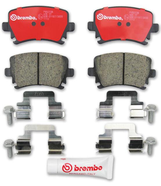 Brembo P85073N Disc Brake Pad - Premium Ceramic OE Alternative, Rear - VW + AUDI