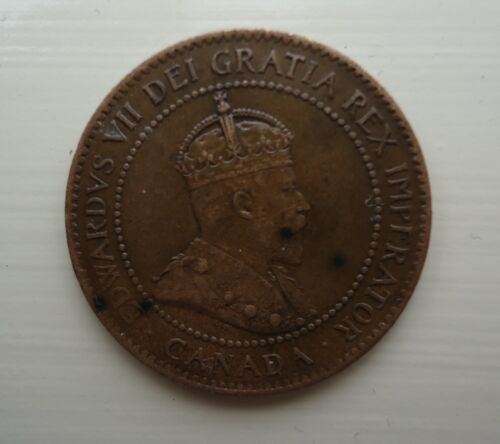 1909 Large Cent Canada.