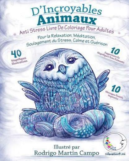 Anti Stress Livre De Coloriage Pour Adultes D Incroyables Animaux Pour L 9781533505897 For Sale Online