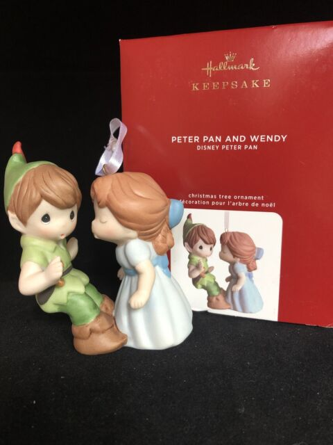 Precious Moments 2020 Christmas Ornament Peter Pan and Wendy Disney Precious Moments 2020 Hallmark