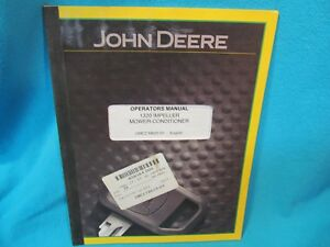 Details about JOHN DEERE 1320 IMPELLER MOWER CONDITIONER OPERATORS MANUAL