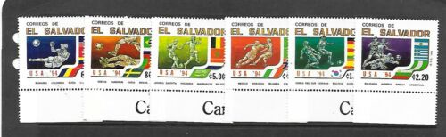 SALVADOR Sc 1368-73 NH ISSUE OF 1994 - SOCCER WORLD CUP