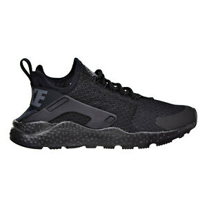 NIKE W Air Huarache Run Ultra 819151-011 BLACK/BLACK-DARK GREY Womens Size 5