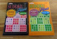 2 NEW Sudoku Plus Puzzle Book Vol 304-305 ~ Kappa ~ Loco Sudoku + Sumoku