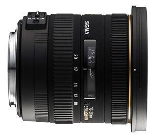 Sigma 10-20 mm / 3,5 EX DC HSM für Nikon Digital Neuware