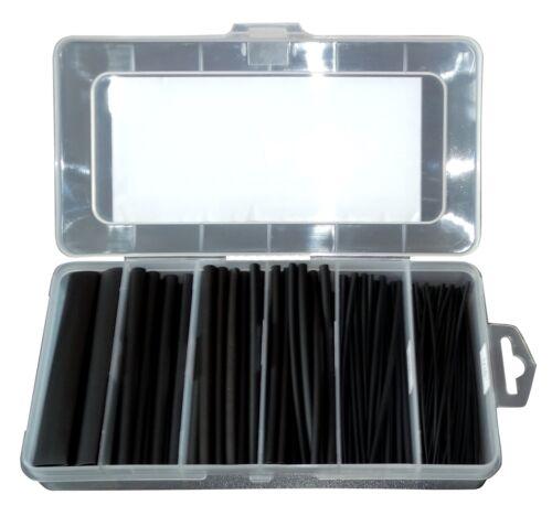 Coffret boîte gaine thermorétractable 10cm 2:1 isolation fils câbles éléctriques
