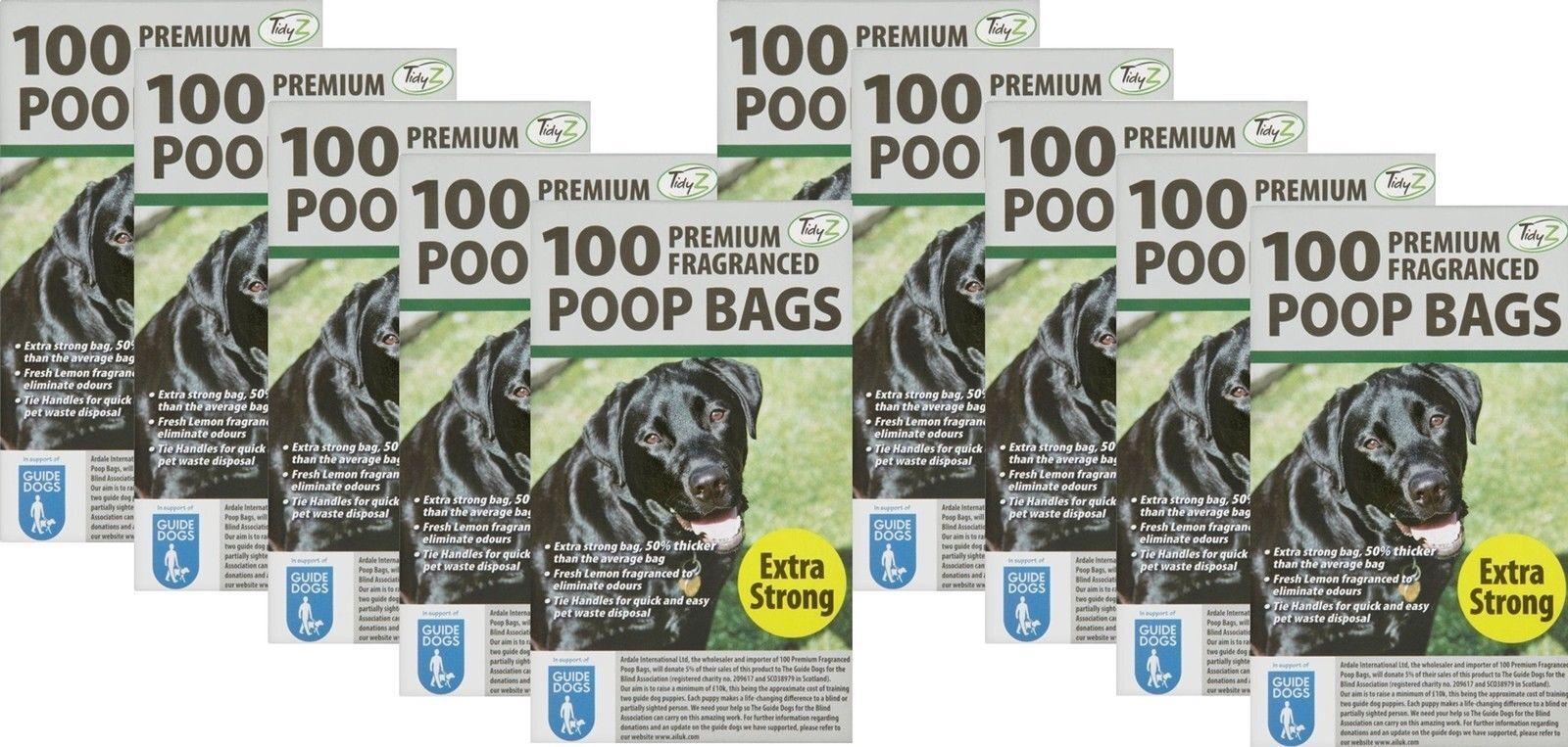 7200 DOGGY BAGS PROFUMATA EXTRA FORTE CANE GATTO Poo rifiuti WC pet bag FRAGRANZA
