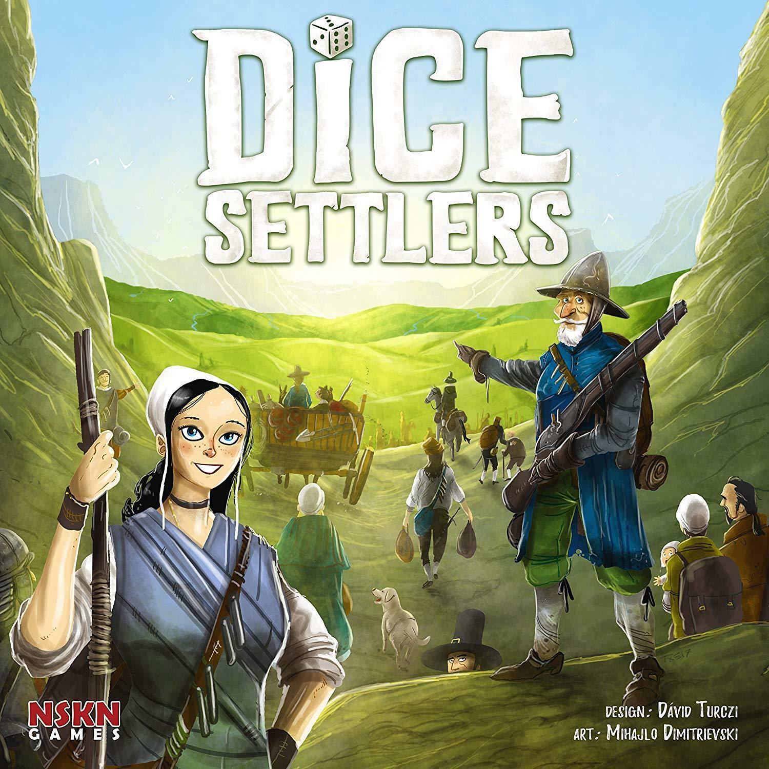 Dice Settlers - Strategy Board Game