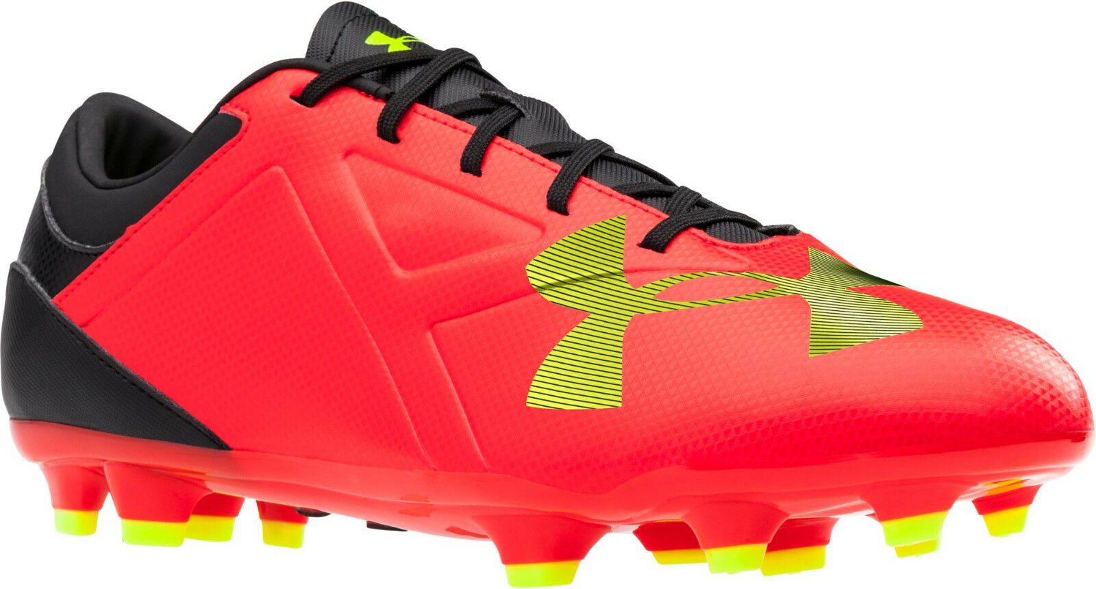 Under Armour UA Spotlight DL FG Soccer Cleats ( rouge ) 1272302-669