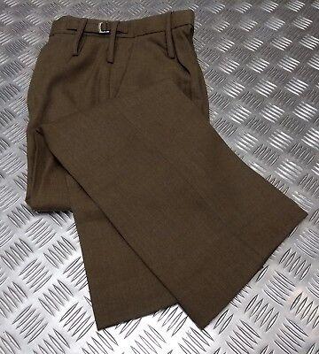 PüNktlich Genuine British Army Issue Fad No2 Womans Barracks Trousers / Slacks - New