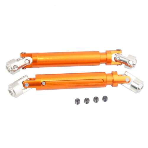 Orange Alum Universal Driven Dogbone For HSP 1:10 Rock Crawler 18027 RC 180011