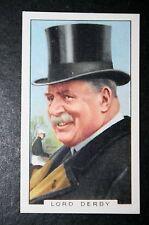 CORSE di Cavalli Abbigliamento Cappello razza allevatore di cavalli LORD DERBY VINTAGE Card