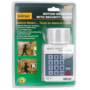 MOTION SENSOR DETECTOR Infrared PIR Wireless Security Key Pad Alarm System NEW