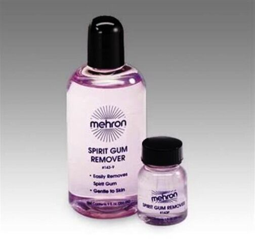 MEHRON SPIRIT GUM REMOVER 1OZ SPECIAL EFFECT PROFESSIONAL STAGE MAKE UP
