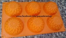 Flower Chrysanthemum Silicon Rubber Soap Cake Jelly Chocolate Mold Molder