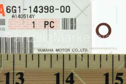 Yamaha 6G1-14398-00-00 WASHER