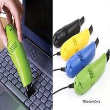 4 Colors PC Keyboard Vacuum Cleaner Laptop Desktop Computer USB Dust Cleaning