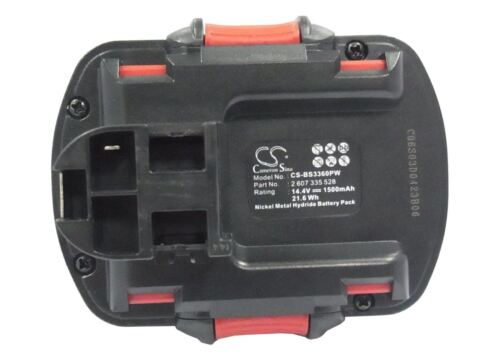 Cameron Sino 1500mAh Replacement battery For Ramset CSD14 Dyna Drill 514